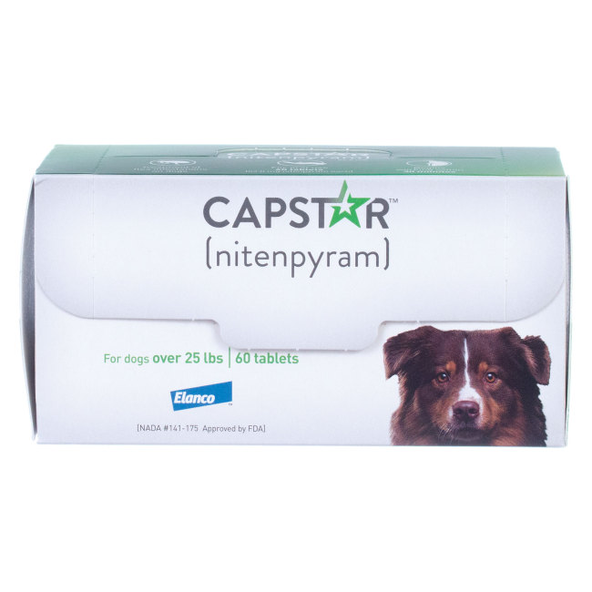 Capstar Over 25 lbs 60 ct