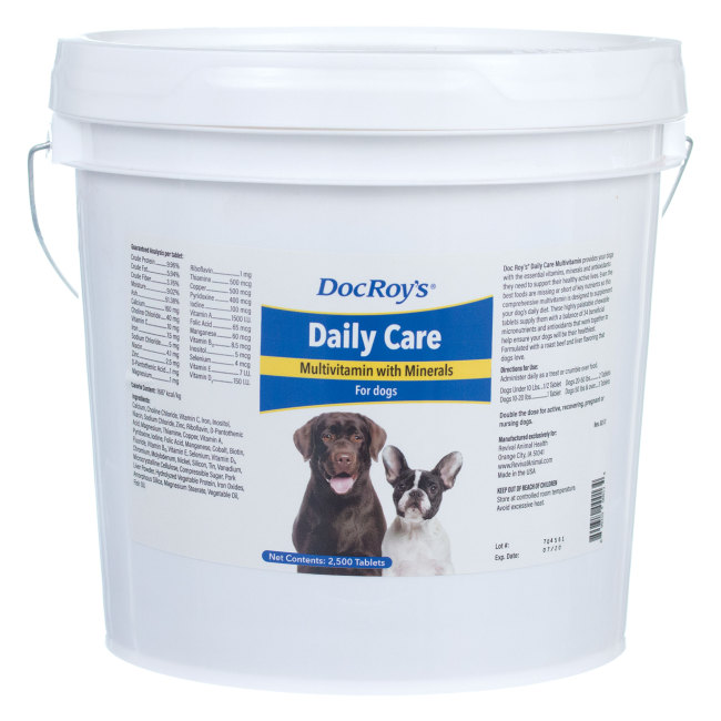 Doc Roys DAILY CARE CANINE 2500 ct