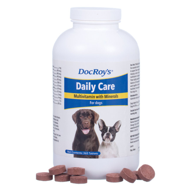 Doc Roys DAILY CARE CANINE 365 ct