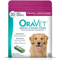 OraVet Dental Hygiene Chews  Large Over 50 lbs 30 Count