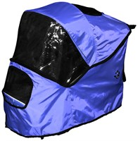 Pet Gear Weather Cover for Happy Trails Stroller  Cobalt Blue
