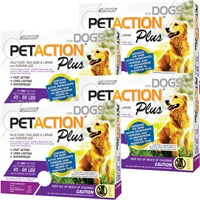 PetAction Plus Flea  Tick Treatment for Large Dogs 4588 lbs  12 MONTH