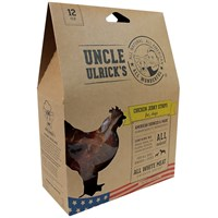 Uncle Ulricks All Natural All American  Chicken Jerky Strips 12 oz