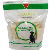 Vetoquinol Enzadent Dental Chews for Large Dogs 30 count