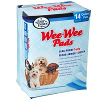 Four Paws WeeWee Pads XLarge 14 pads