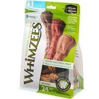 Whimzees Toothbrush Dental Dog Treats  Small 24 count