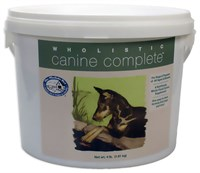 Wholistic Canine Complete 4 lbs Tub