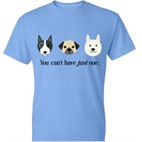 Womens TShirt  You Cant Have Just One  Medium Carolina Blue