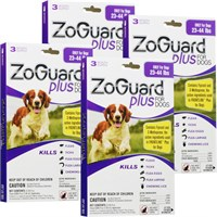 ZoGuard Plus for Dogs 2344 lbs 12 Pack