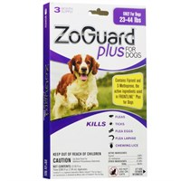 ZoGuard Plus for Dogs 2344 lbs 3 Pack