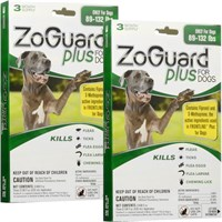 ZoGuard Plus for Dogs 89132 lbs 6 Pack