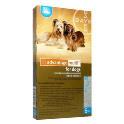 Advantage Multi for Dogs Light Blue 9.120lbs