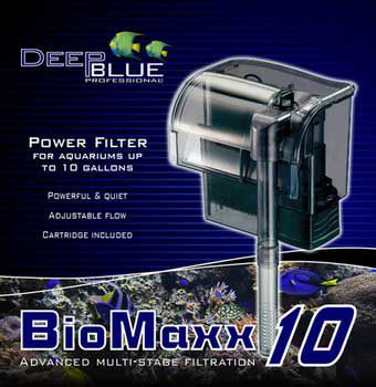 Deep Blue BioMaxx Power Filter 30 Gallon