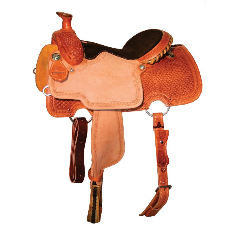 Reinsman Spider Braid Border Roper Saddle 13 Reg