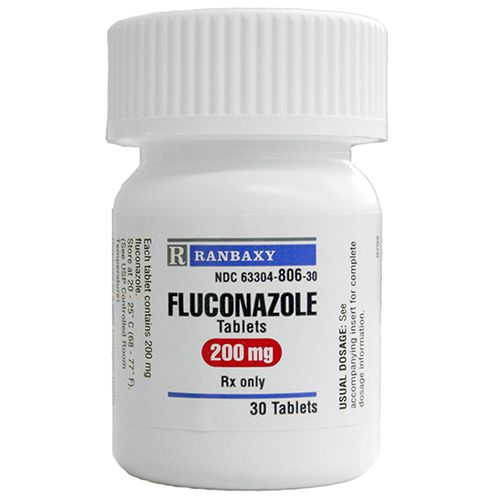 Fluconazole 200 mg Tablet 30 Count