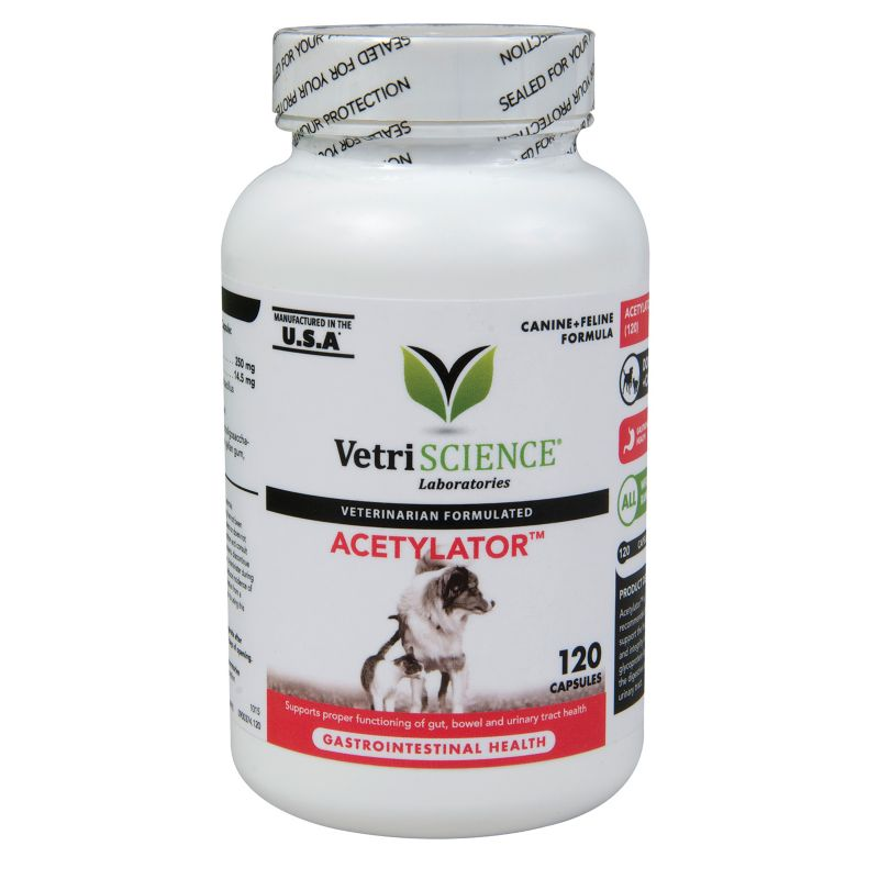 VetriScience Acetylator Capsules