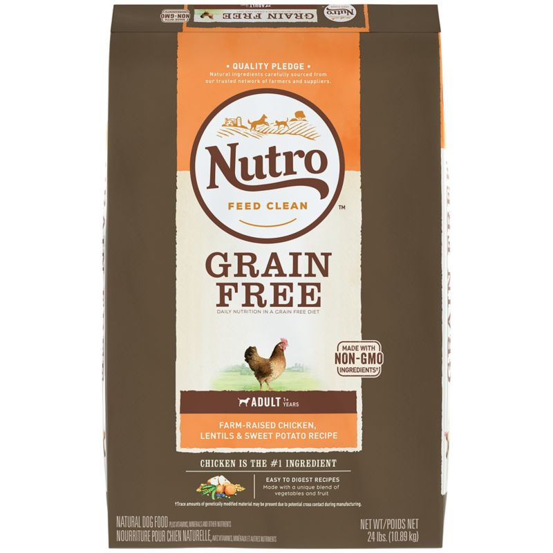 Nutro Grain Free ChickenLentils Dry Dog Food
