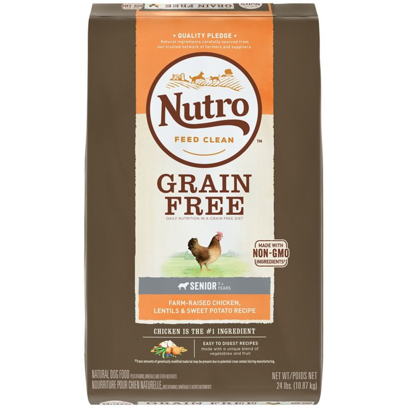 Nutro Grain Free Senior Chicken Dry Dog Food