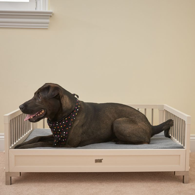 New Age Pet ecoFLEX Antique Raised Dog Bed Large