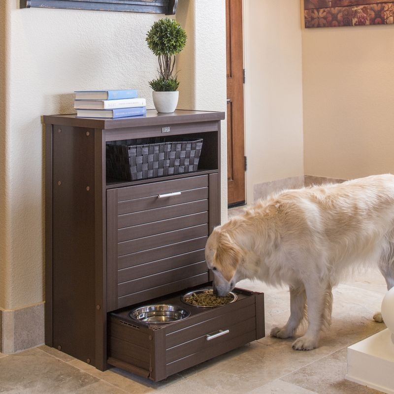 New Age Pet ecoFLEX PantryDouble Diner Russet