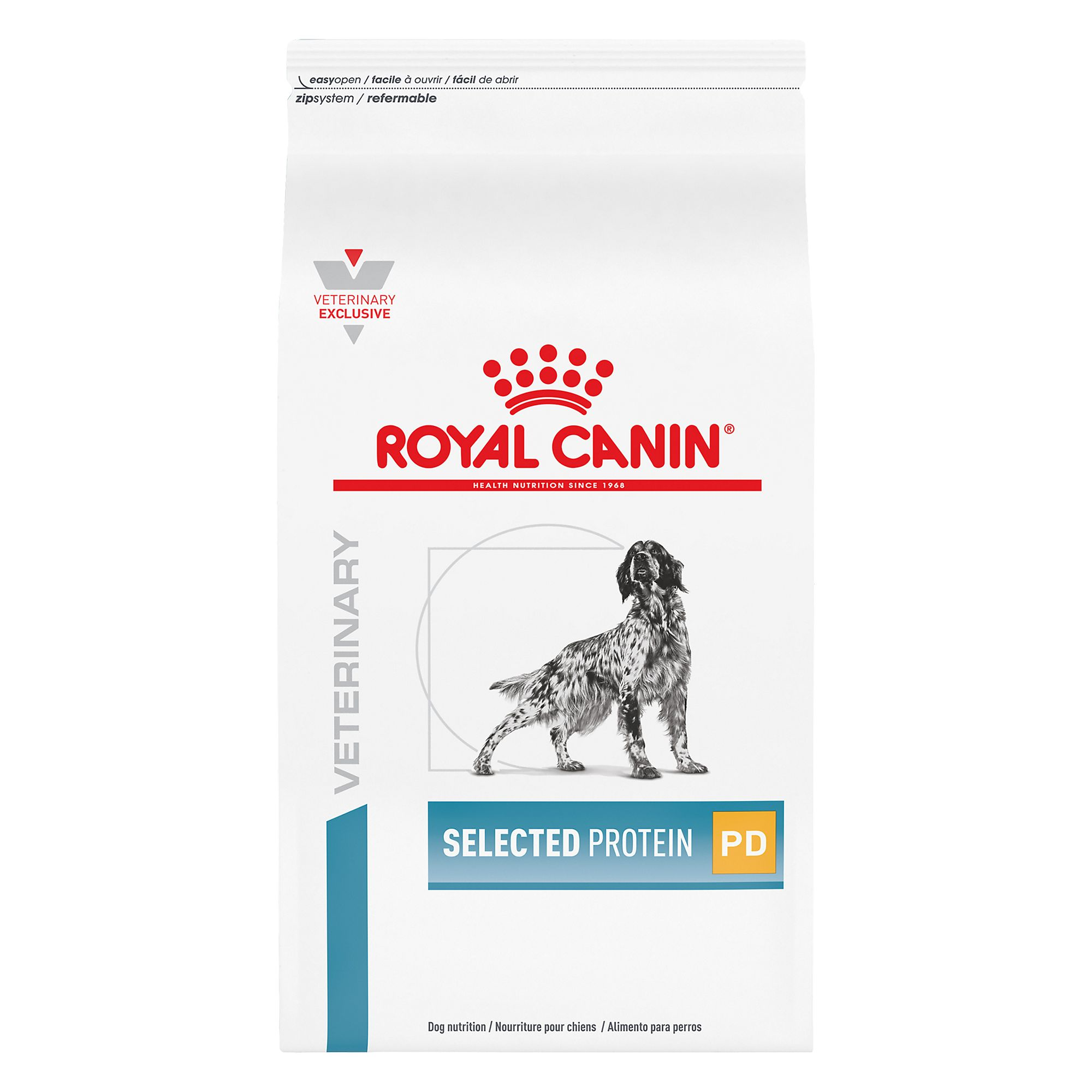 Royal Caninreg Veterinary Diet Hypoallergenic Selected Protein Adult PD Dog Food size 17.6 Lb
