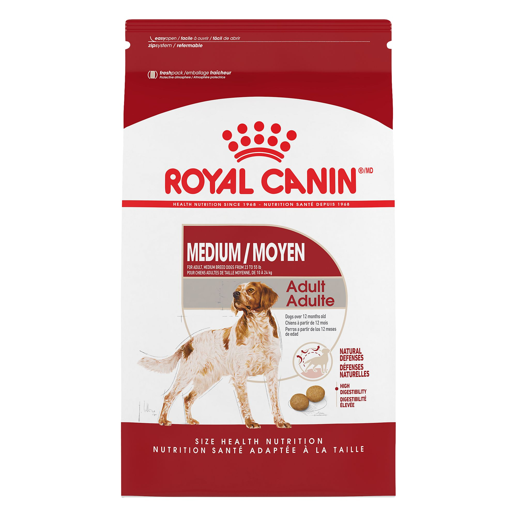 Royal Caninreg Size Health Nutrition Medium Adult Dog Food size 30 Lb