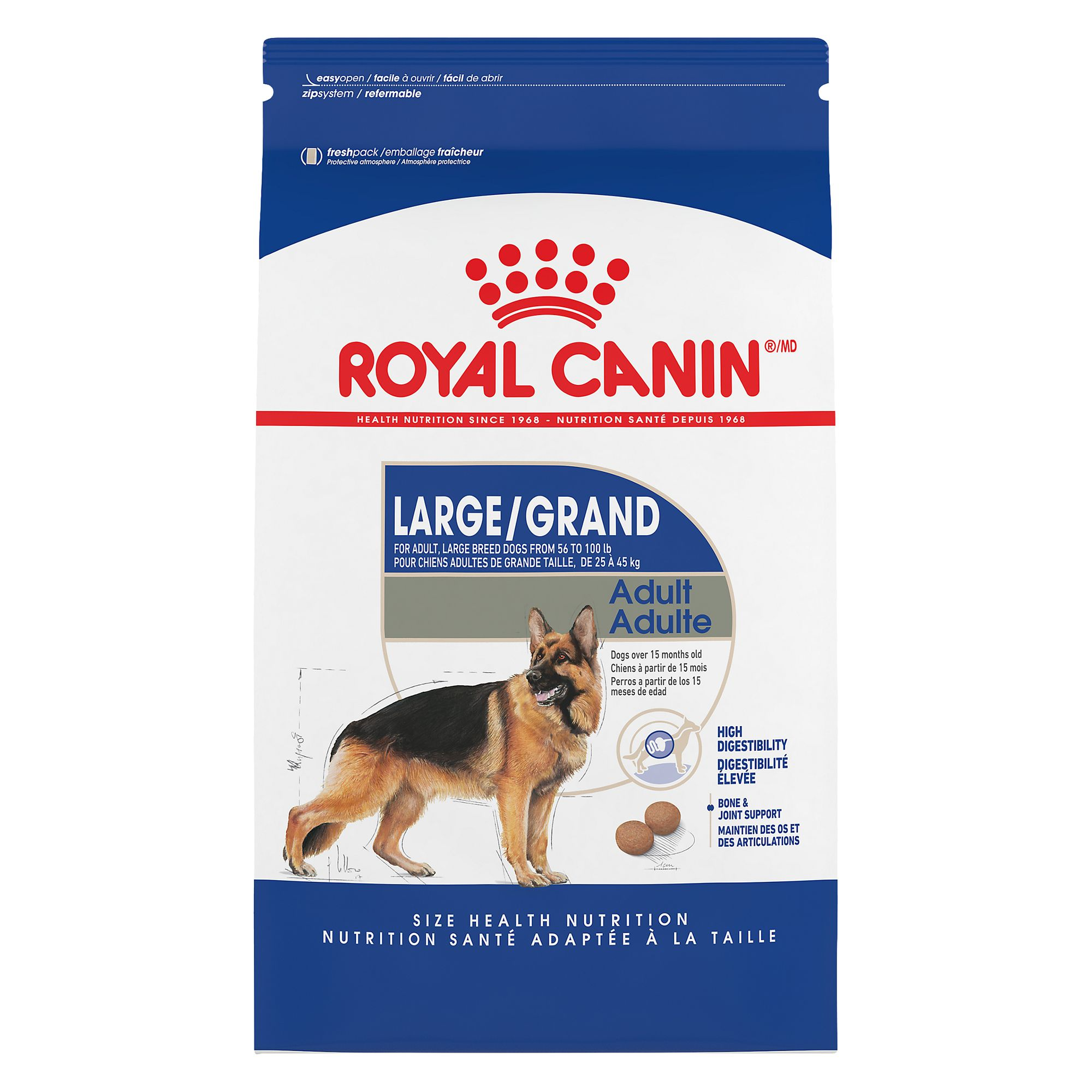 Royal Caninreg Size Health Nutrition Maxi Adult Dog Food size 35 Lb