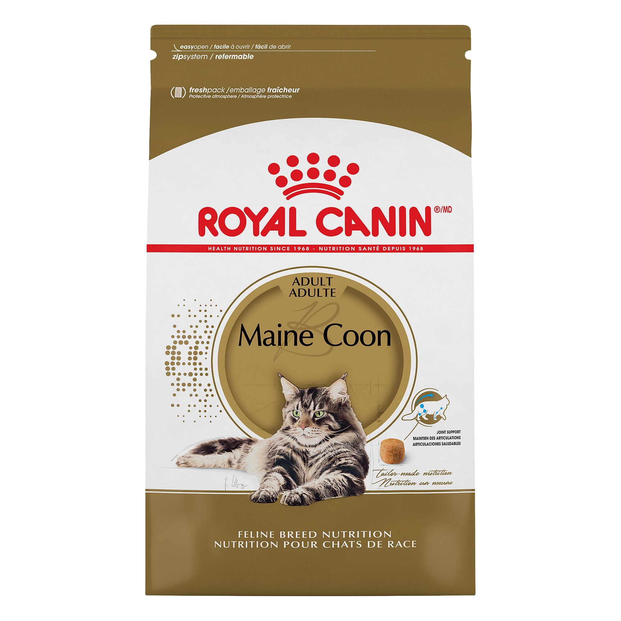 Royal Caninreg Breed Health Nutrition Maine Coon Cat Food size 6 Lb
