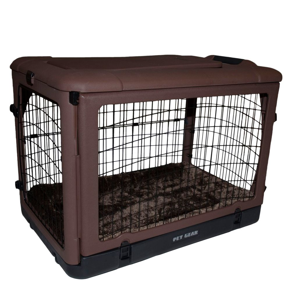 Pet Gear Other Door Steel Crate size 27L x 18.25W x 21.75H Brown