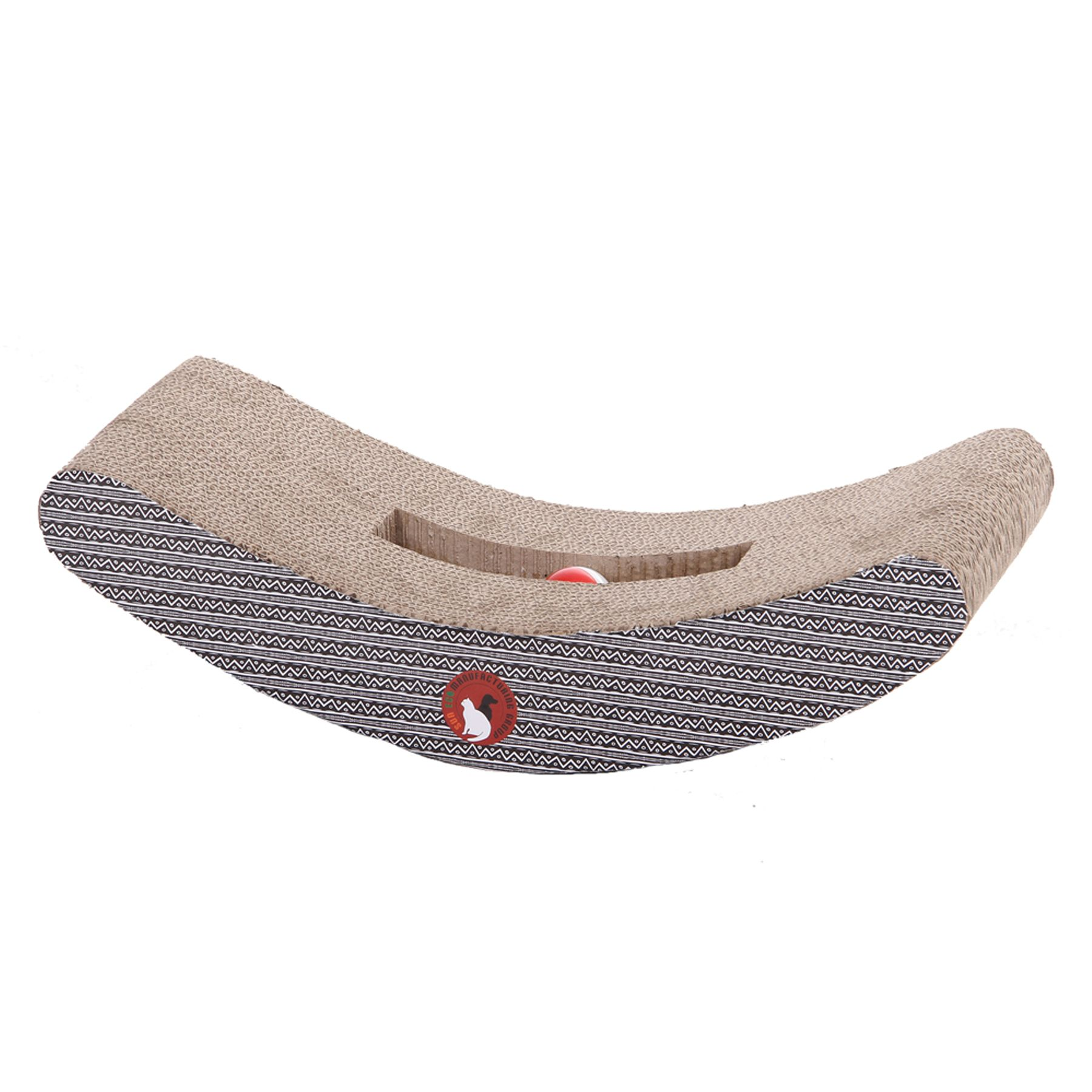 PetPals Rock and Roll Corrugated Cat Scratcher