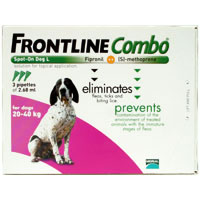 Frontline Plus Known as Frontline Combo Large Dog 4588lbs Purple 12 Doses
