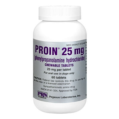 Proin 25 mg Chewable 60 ct