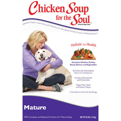 Chicken Soup for the Dog Lover's Soul Senior Dog Dry Food 30 lb