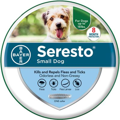 "Seresto Small Dogs up to 18 lbs 15"" collar length"