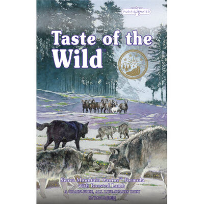Taste Of The Wild Sierra Mountain Canine Formula Dry Dog Food 28 lb