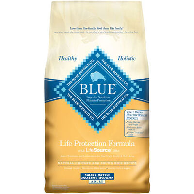 Blue Buffalo Healthy Weight Small Breed Adult Dog Food 15 lb