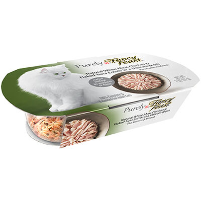 Purely Fancy Feast White Meat Chicken & Flaked Tuna 10/2 oz Tubs
