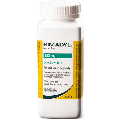Rimadyl 100 mg Chewables 60 ct