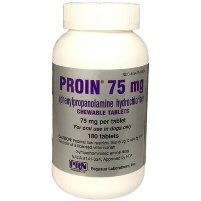 Proin 75 mg Chewable 180 ct