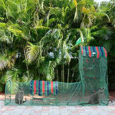 Kittywalk Outdoor Cat Enclosure