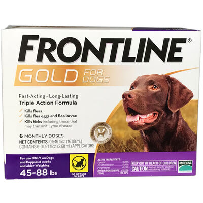 Frontline Gold 12 pk Dog Large 45-88 lbs