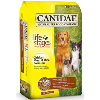 Canidae Chicken Meal and Rice Dry Dog Food 30 lb