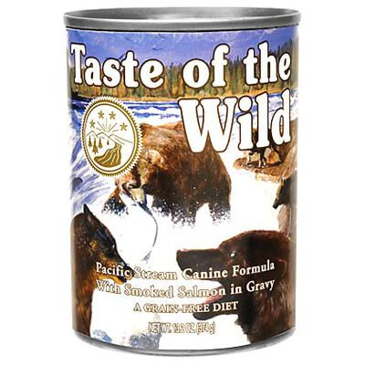 Taste Of The Wild Canned Dog Food Pacific Stream 12 x 13.2 oz