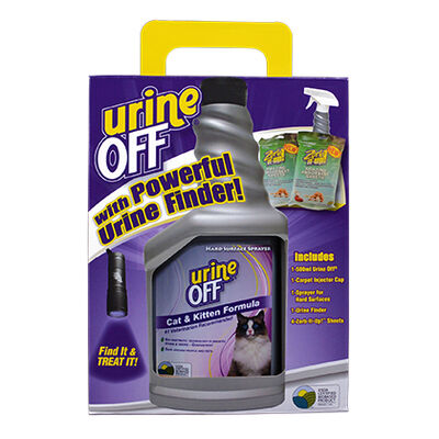 Urine Off Clean Up Kit for Cats