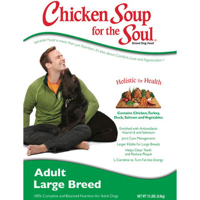 Chicken Soup for the Dog Lover's Soul Large Breed Adult Dog Dry Food 13.5 lb