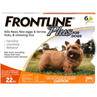Frontline Plus Value 6pk Dogs 5-22 lbs