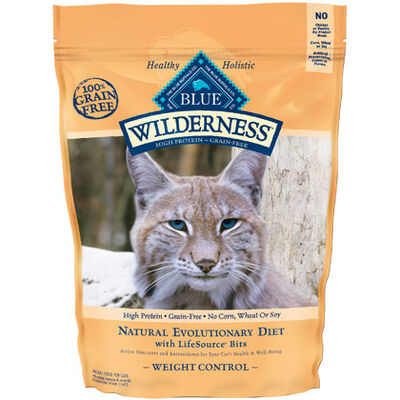 Blue Buffalo Wilderness Weight Control Dry Cat Food - 5 lb bag