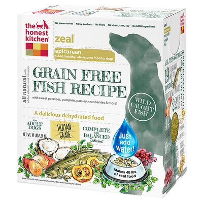 The Honest Kitchen Zeal Grain Free Fish Dehydrated Dog Food 10 lb