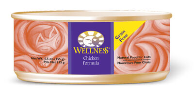 Wellness Canned Cat Food Chicken Formula 24/5.5 oz