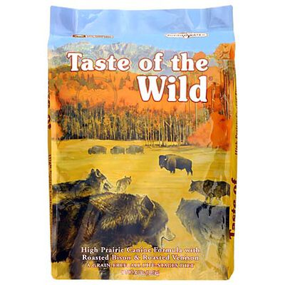 Taste of the Wild High Prairie Canine w/Roasted Bison & Venison 28 lb